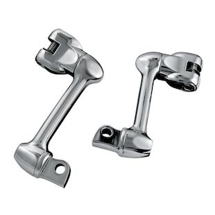 "Kuryakyn Adjustable Foot Peg Offset Mount For Harley 4"" Long / Chrome [Previously Installed]"