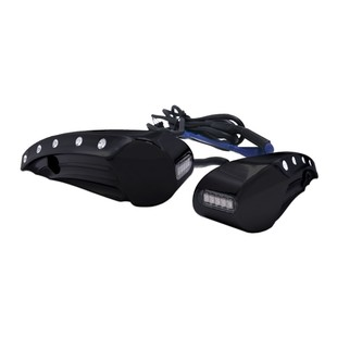 Covingtons Dimpled Front Turn Signals For Harley Road Glide 2015-2017 Black [Previously Installed]