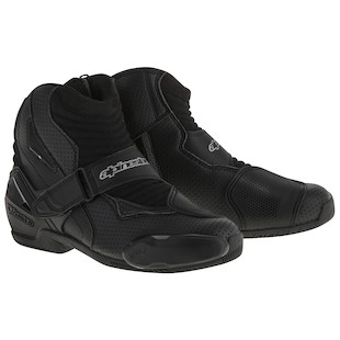 Alpinestars SMX-1 R Vented Boots Black / 47 [Demo - Good]