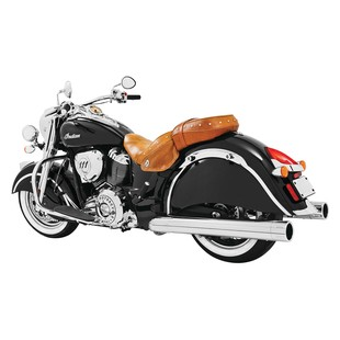 """Freedom Performance 4"""" Slip-On Mufflers For Indian Chief Classic And Vintage 2014-2018"""