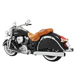 "Freedom Performance 4"" Slip-On Mufflers For Indian Chief Classic And Vintage 2014-2018"