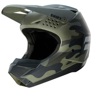 Shift Whit3 Label Camo Helmet