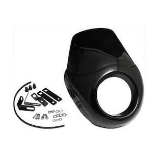 West Eagle T-Sport Cowl Bikini Fairing For Harley Sportster 2004-2018 Black [Previously Installed]