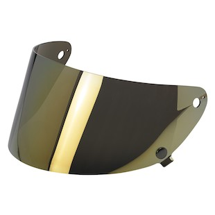 Biltwell Gringo S Face Shield Gold Mirror [Previously Installed]