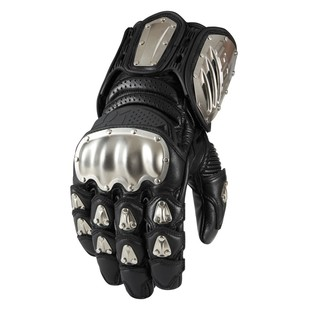Icon TiMax Long Gloves Black / XL [Demo - Good]