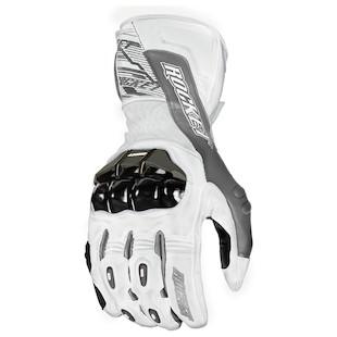 Joe Rocket Flexium TX Gloves White/Gunmetal / LG [Demo - Good]