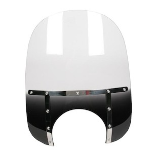 """Memphis Shades Memphis Fats Windshield Gradient Black / 15"""" Tall [Previously Installed]"""