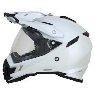 AFX FX-41 DS Helmet Pearl White / MD [Open Box]