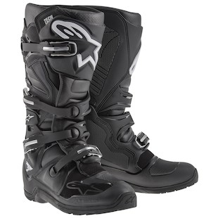 Alpinestars Tech 7 Enduro Boots Black / 12 [Blemished - Very Good]