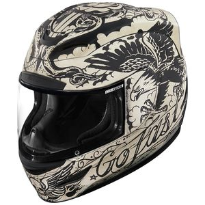Icon Airmada Scrawl Helmet