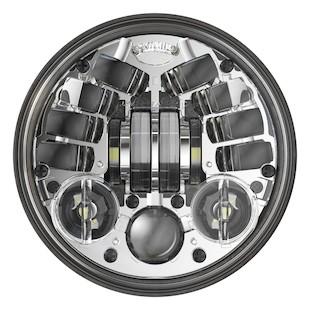 """J.W. Speaker 8690 LED 5 3/4"""" Headlight Chrome [Previously Installed]"""