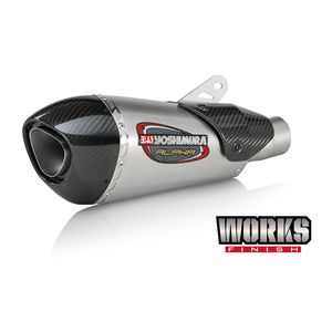Yoshimura Alpha T Works Street Slip-On Exhaust Triumph Daytona 675 / R 2013-2017