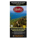 Butler Maps Southern Mid-Atlantic States Map