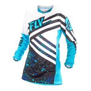 Fly Racing Dirt Kinetic Girl's Jersey
