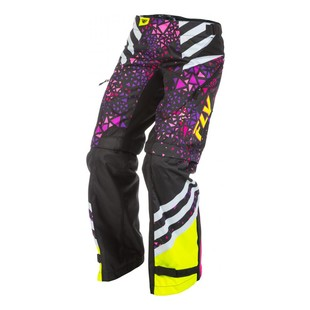 Fly Racing Kinetic Girl's Overboot Pants