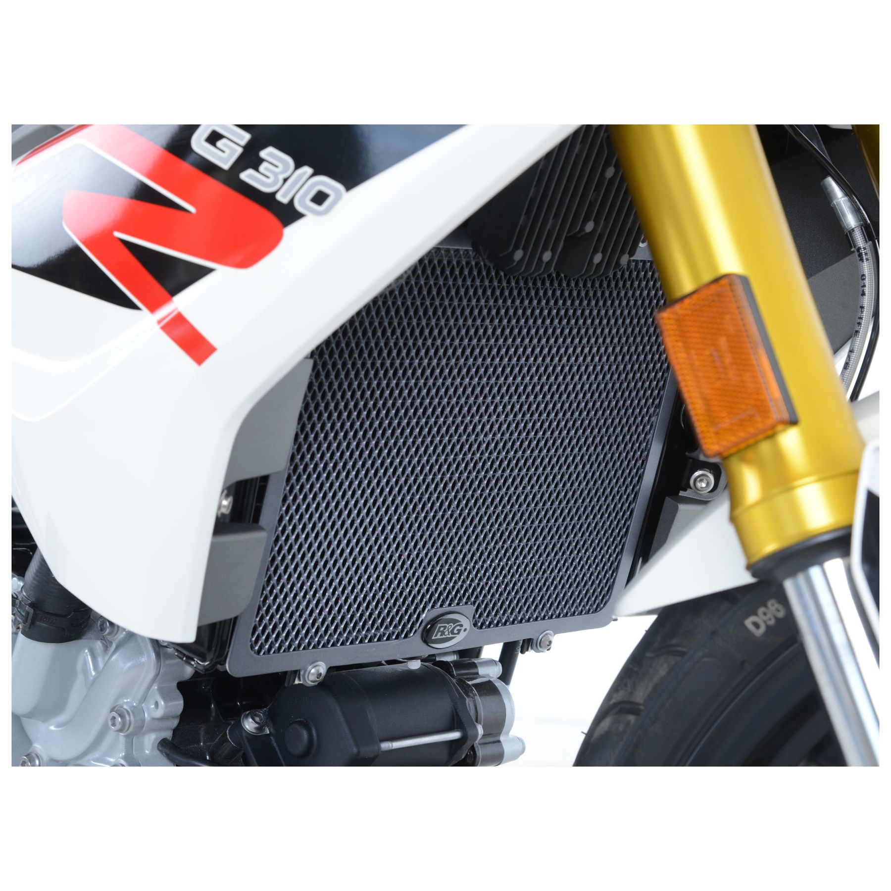R/&G RACING BLACK RADIATOR GUARD KTM 990 Adventure 2005