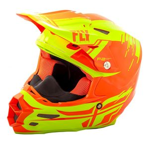 Fly Racing Dirt F2 Carbon Cold Weather Pure Helmet