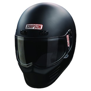 Simpson Street Bandit Helmet Matte Black / SM [Open Box]
