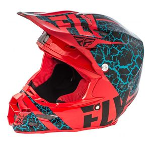 Fly Racing Dirt F2 Carbon Fracture Helmet