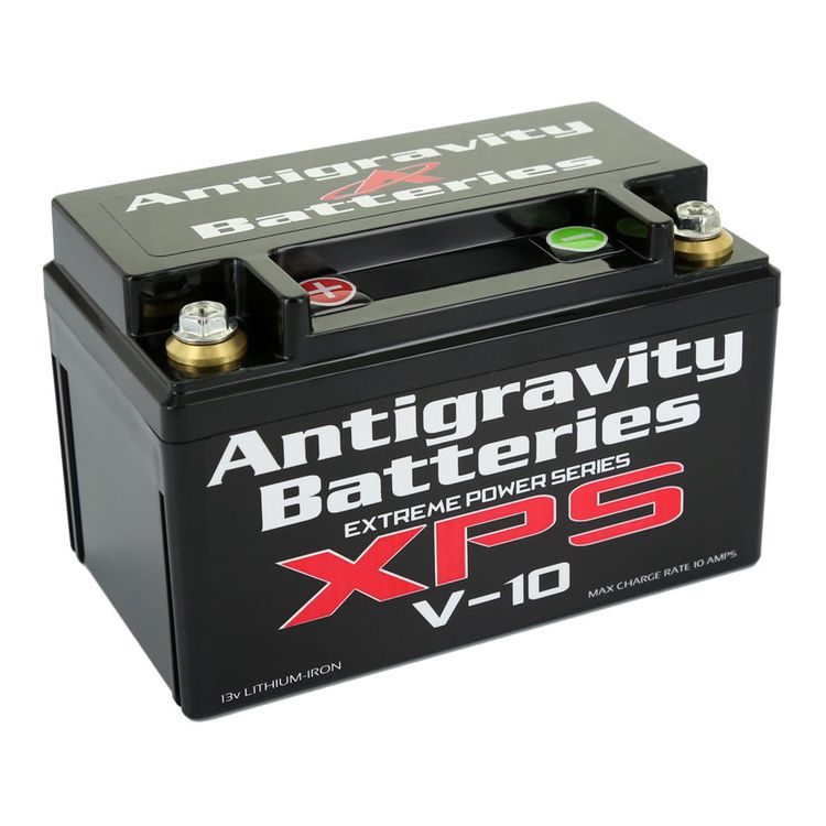 Antigravity V-10 XPS 24-Cell 680CA Lithium Ion Battery Left Side Negative Terminal [Previously Installed]