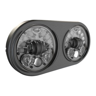 """J.W. Speaker 8692 Adaptive LED 5 3/4"""" Headlight For Harley Road Glide 1998-2013 Black [Previously Installed]"""
