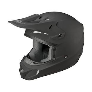 Fly Racing Kinetic Dash Helmet Matte Black / 4XL [Blemished - Very Good]