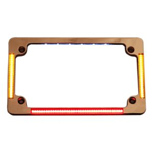 Custom Dynamics LED All-In-One Flat License Plate Frame