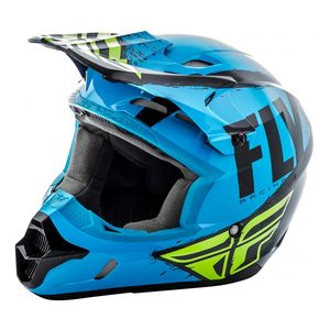 Fly Racing Dirt Youth Kinetic Burnish Helmet