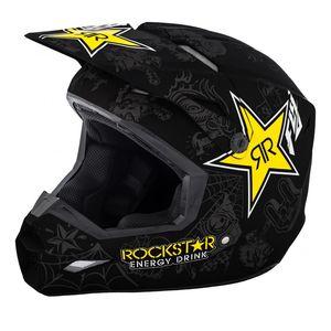 Fly Racing Dirt Elite Rockstar Helmet