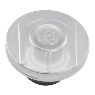 Performance Machine Scallop Gas Cap For Harley 1996-2017 Vented Fuel Cap / Chrome [Open Box]