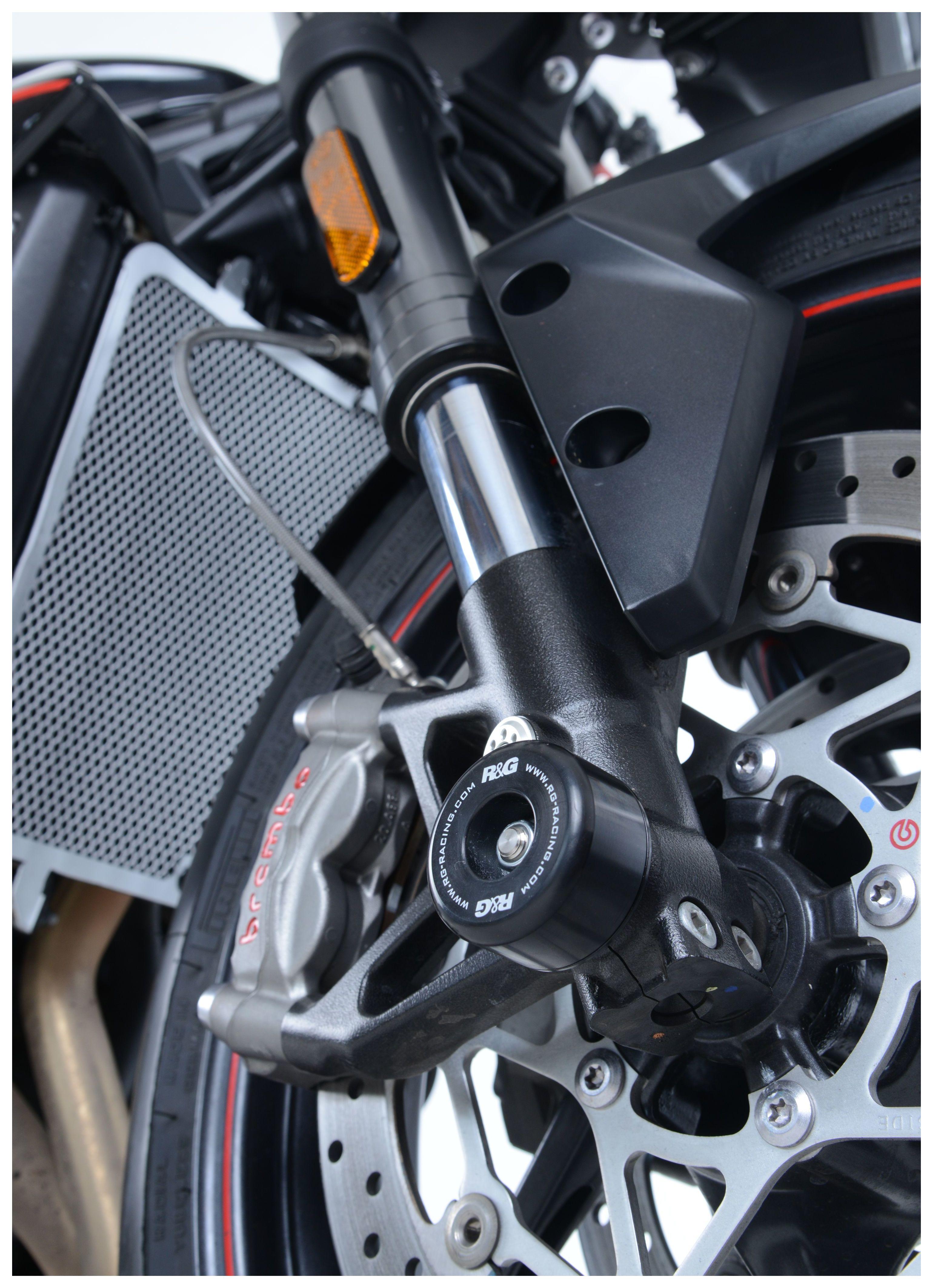 2015 /& 16 by R/&G Racing Handlebar Bar Ends for Triumph Street Triple 675 RX
