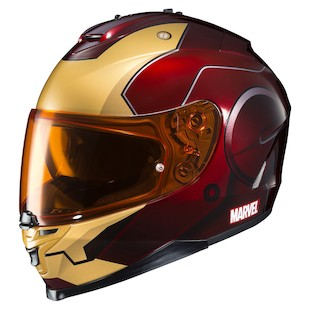 HJC IS-17 Iron Man Helmet Red/Yellow / SM [Open Box]