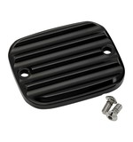 Joker Machine Finned Front Brake Master Cylinder Cover For Harley 1996-2009
