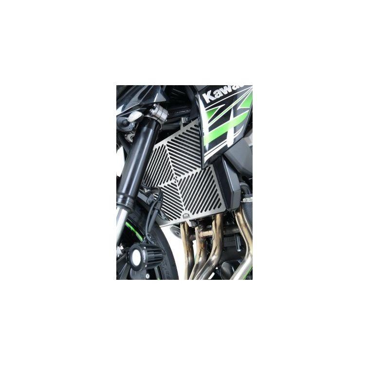 R&G Racing Stainless Steel Radiator Guard Kawasaki Z900 2017-2021