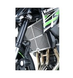 R&G Racing Stainless Steel Radiator Guard Kawasaki Z900 2017-2018