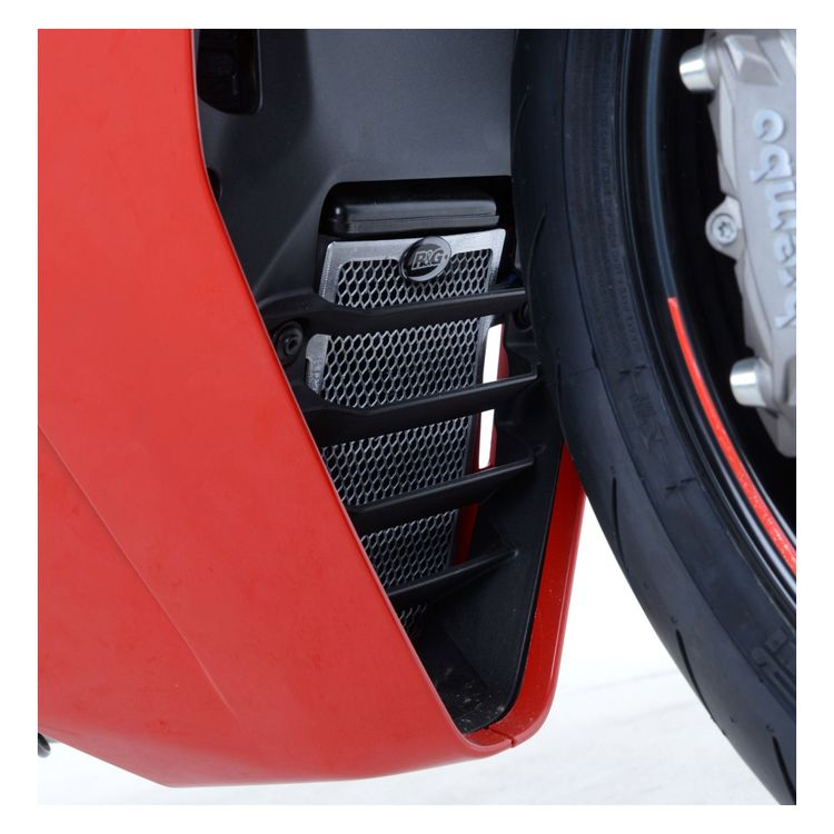 R&G Racing Oil Cooler Guard Ducati SuperSport / S 2017-2018