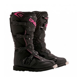 O'Neal Rider Women's Boots Black/Pink / 7 [Open Box]