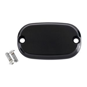 Joker Machine Smooth Rear Master Cylinder Cover For Harley Big Twin 1999-2017