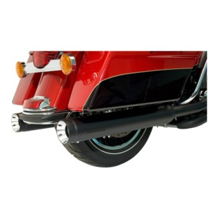 """Supertrapp Exhaust 4"""" Stout Slip-On Mufflers For Harley Touring 2017-2018"""