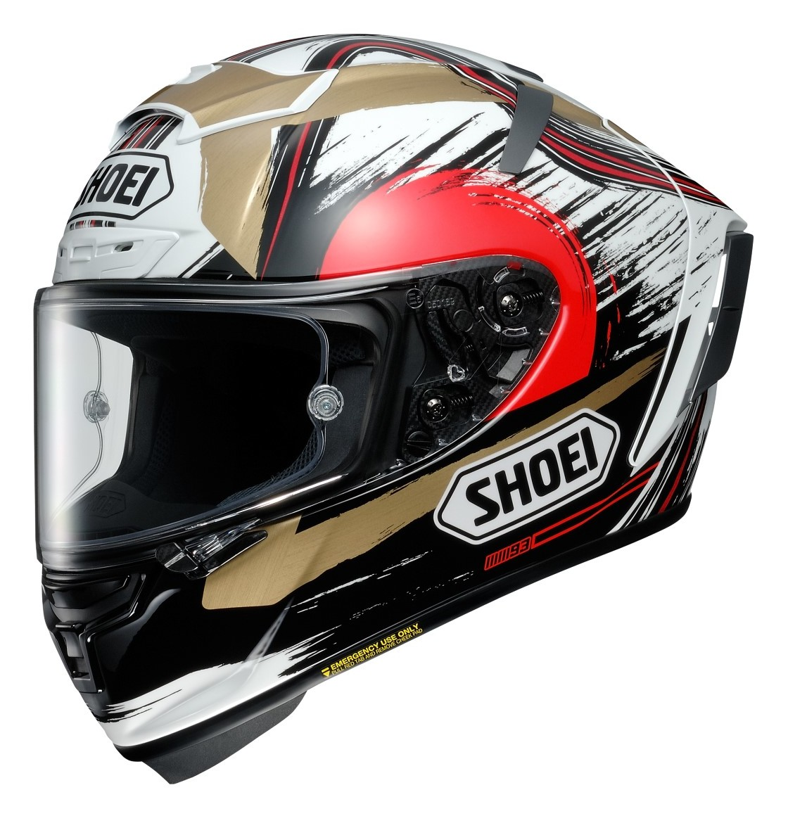 shoei x 14 marquez motegi helmet revzilla. Black Bedroom Furniture Sets. Home Design Ideas