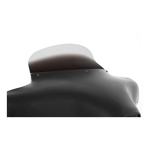 """Memphis Shades Batwing Fairing Spoiler Windshield For Harley Ghost Tint / 9"""" Tall [Previously Installed]"""