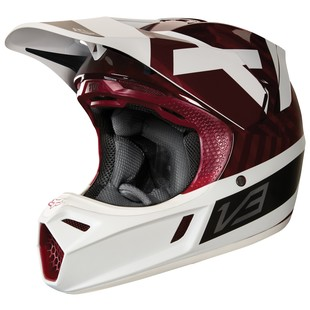 Fox Racing V3 Preest Helmet