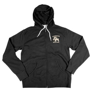 Answer Stamp Zip-Up Hoody