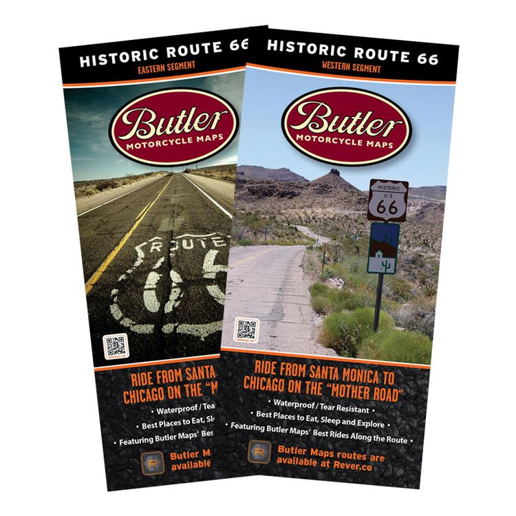 Butler Maps Historic Route 66