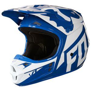 fox racing youth v1 race helmet 35 41 98 off revzilla