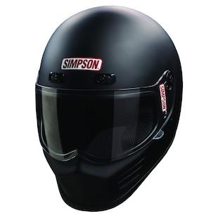 Simpson Street Bandit Helmet Matte Black / MD [Open Box]