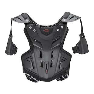EVS F2 Chest Protector Black / MD [Blemished - Very Good]
