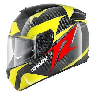 Shark Speed-R Series 2 Carbon Run Helmet Black/Yellow / MD [Blemished - Very Good]