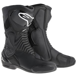 Alpinestars SMX 6 Vented Boots Black / 42 [Demo - Good]