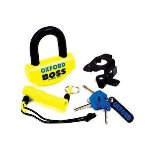 Oxford Boss Disc Lock Yellow [Previously Installed]
